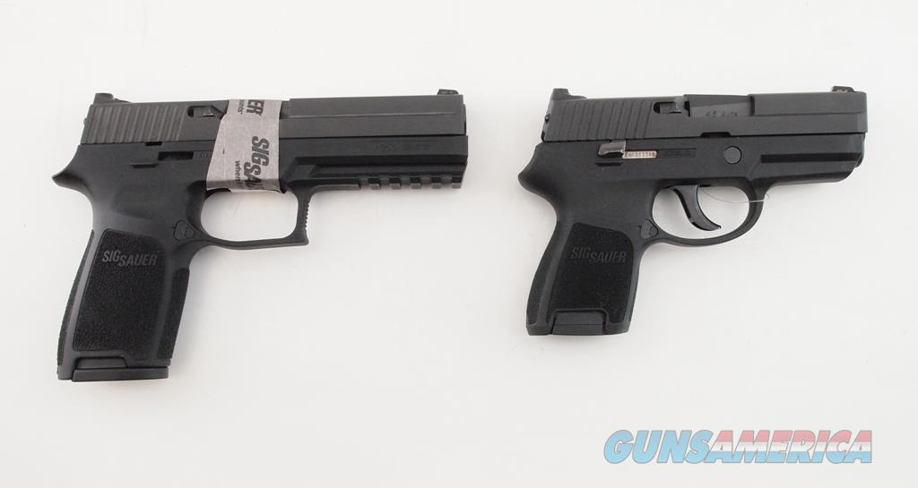 SigSauer P250 250F-452SUM, .45ACP, Two Frame Package  Guns > Pistols > Sig - Sauer/Sigarms Pistols > P250