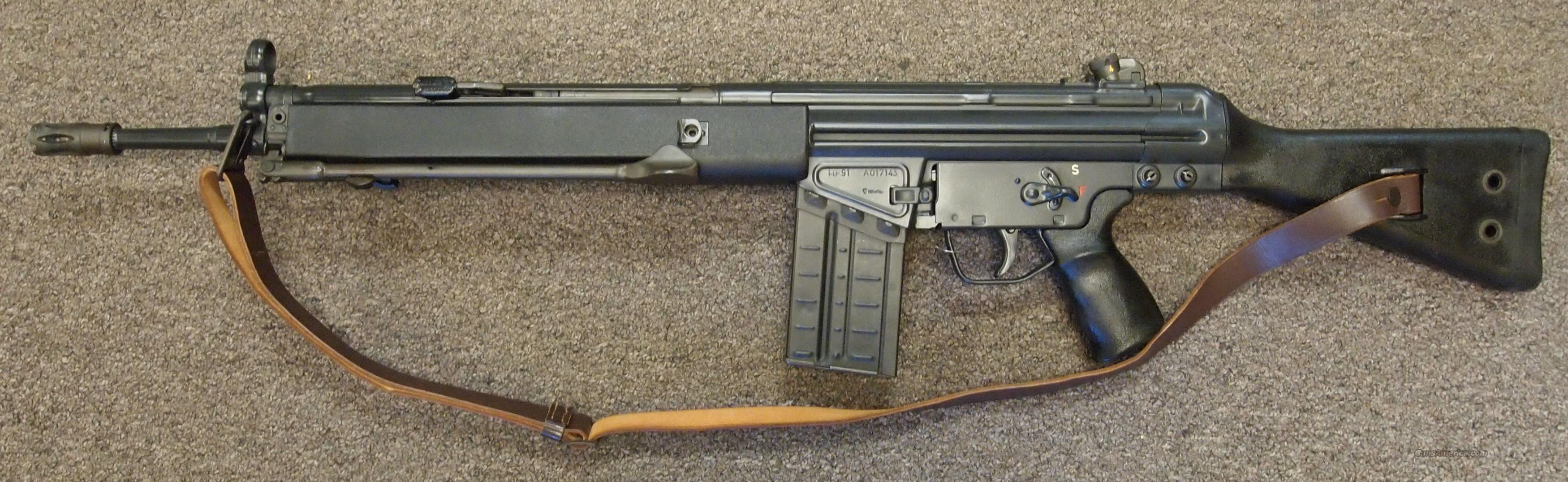 HK 91 .308  Guns > Rifles > Heckler & Koch Rifles > Tactical