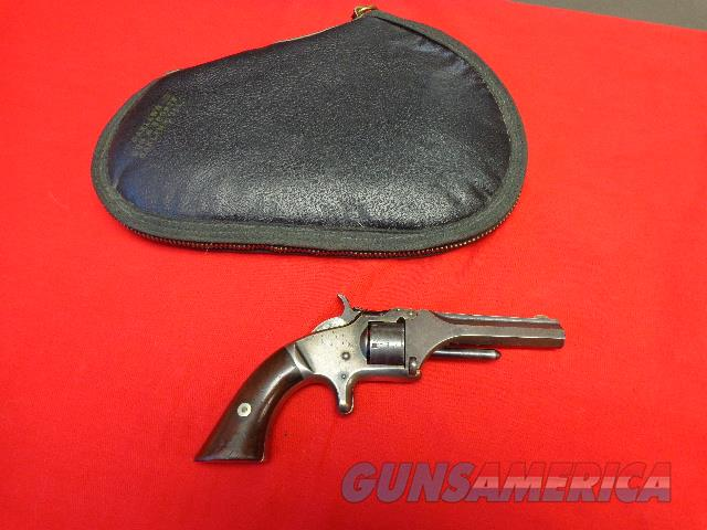 S & W MODEL 1 , 2ND ISSUE IN 22 SHORT  Guns > Pistols > Smith & Wesson Revolvers > Pre-1899
