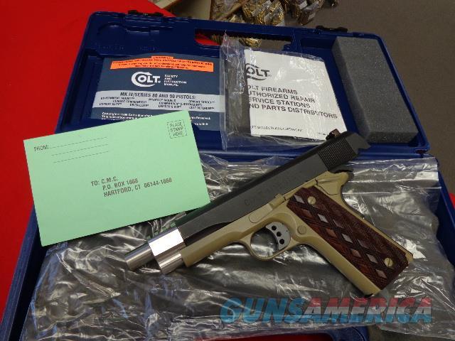 CUSTOMIZED COLT M1991A1 IN 45 ACP  Guns > Pistols > Colt Automatic Pistols (1911 & Var)