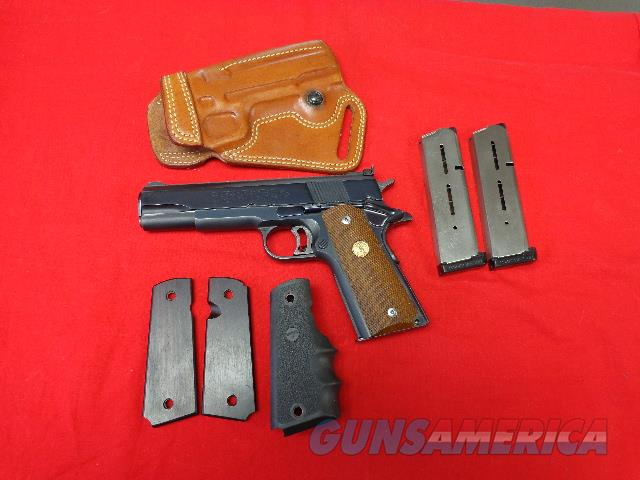 COLT MKIV SERIES 70 GOLDCUP NATIONAL MATCH  Guns > Pistols > Colt Automatic Pistols (1911 & Var)