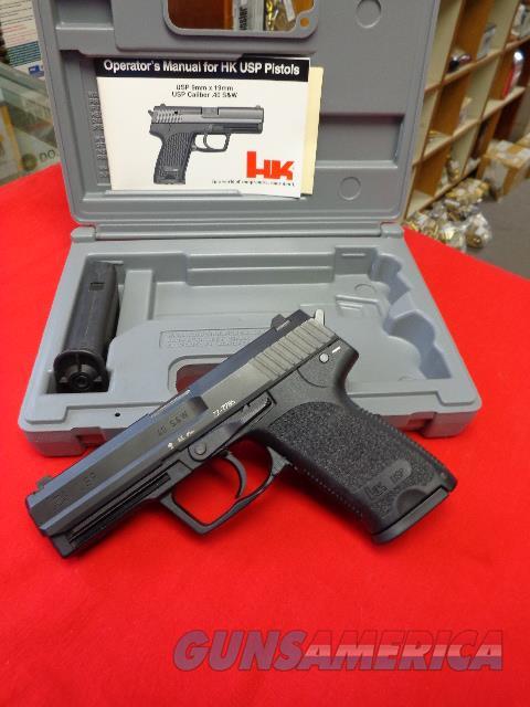 H & K USP 40 S & W   Guns > Pistols > Heckler & Koch Pistols > Polymer Frame