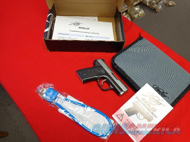 KIMBER SOLO 9 MM TWO - TONE  Guns > Pistols > Kimber of America Pistols > 1911