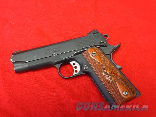 SPRINGFIELD CHAMPION RANGE OFFICER IN 9 MM  Guns > Pistols > Springfield Armory Pistols > 1911 Type