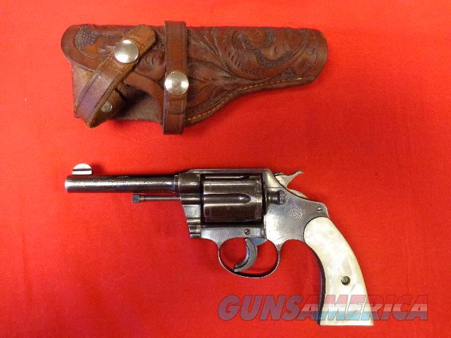 COLT POLICE POSITIVE SPECIAL IN 32-20  Guns > Pistols > Colt Double Action Revolvers- Pre-1945