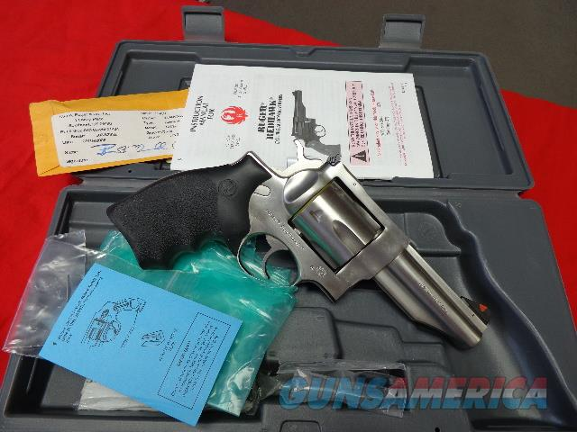 RUGER REDHAWK 44MAG - NIB  Guns > Pistols > Ruger Double Action Revolver > Redhawk Type
