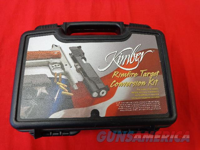 KIMBER RIMFIRE TARGET 1911 CONVERSION   Guns > Pistols > Kimber of America Pistols > 1911