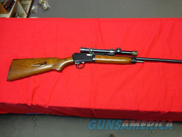 WINCHESTER MODEL 63 IN 22 LR WITH LYMAN ALASKAN 2 1/2  Guns > Rifles > Winchester Rifles - Modern Bolt/Auto/Single > Autoloaders
