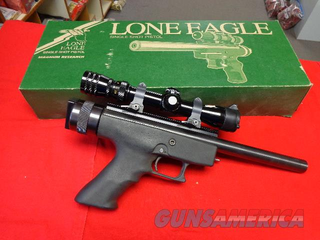 MAGNUM RESEARCH LONE EAGLE 7MM - 08   Guns > Pistols > Magnum Research Pistols
