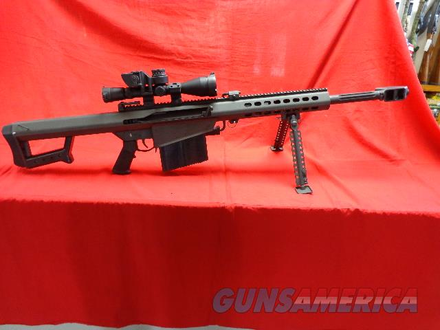 BARRETT 82 A1 CQ IN 50 BMG  Guns > Rifles > Barrett Rifles