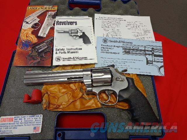 "S & W 629- 4 , 44 MAGNUM 6 1/2"" SS  Guns > Pistols > Smith & Wesson Revolvers > Model 629"