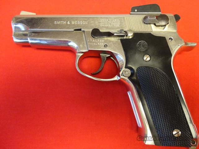 S&W 459 IN 9MM NICKELED  Guns > Pistols > Smith & Wesson Pistols - Autos > Steel Frame