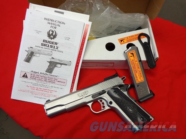 RUGER SR1911 IN 45 ACP  Guns > Pistols > Ruger Semi-Auto Pistols > 1911