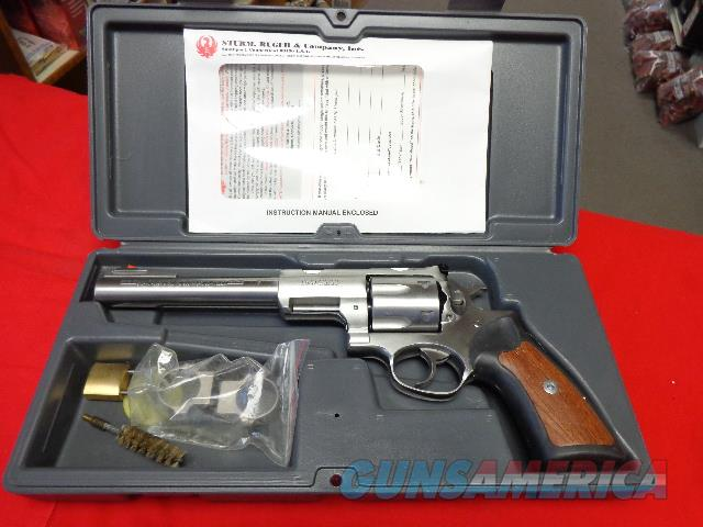 RUGER SUPER REDHAWK IN 44 MAG  Guns > Pistols > Ruger Double Action Revolver > Redhawk Type