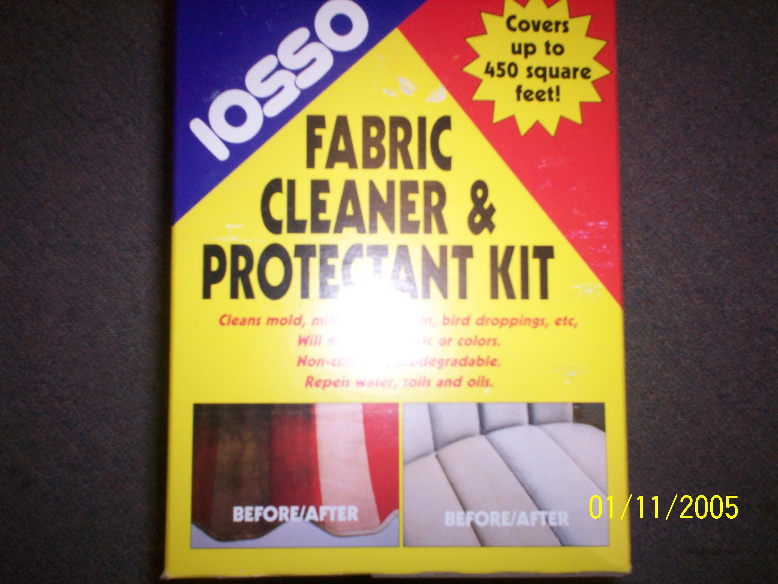 Iosso - Fabric Cleaner & Protectant  Non-Guns > Miscellaneous