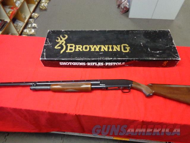 BROWNING MODEL 12 IN 20 G , GRADE I  Guns > Shotguns > Browning Shotguns > Pump Action > Hunting
