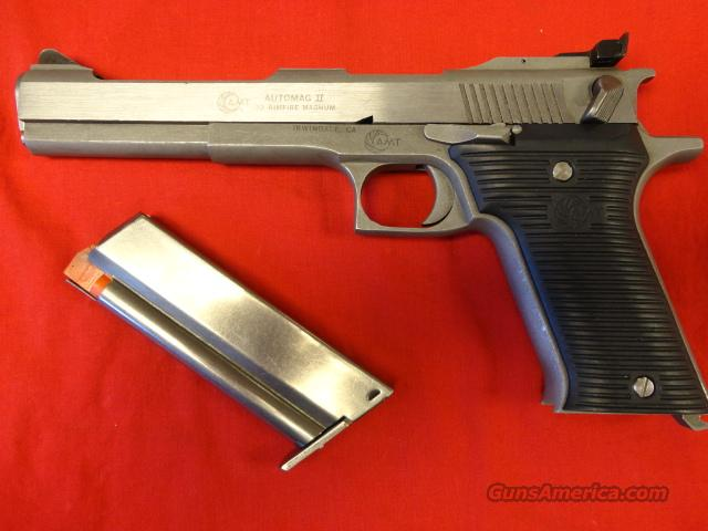 AMT AUTOMAG II IN 22 MAGNUM  Guns > Pistols > AMT Pistols > Other