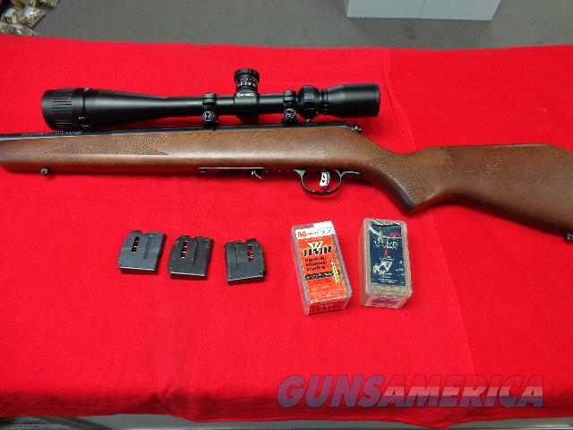 SAVAGE MODEL 93 R17 - 17 HMR  Guns > Rifles > Savage Rifles > Rimfire