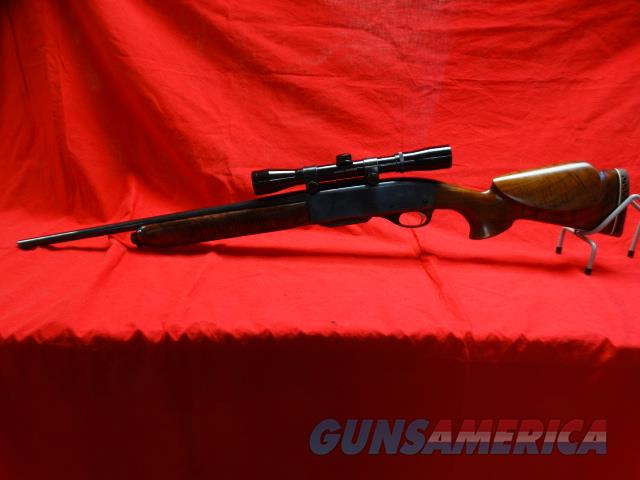 REMINGTON 742 CARBINE IN 30 - 06 WITH CUSTOM WOOD   Guns > Rifles > Remington Rifles - Modern > Other
