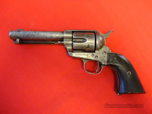 COLT 1ST GEN BLACKPOWDER FRAME 38 WCF  Guns > Pistols > Colt Single Action Revolvers - 1st Gen.
