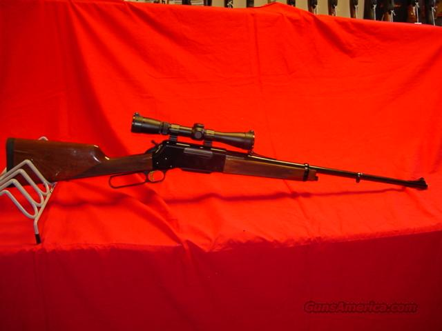 BROWNING 81 BLR LWT  Guns > Rifles > Browning Rifles > Lever Action