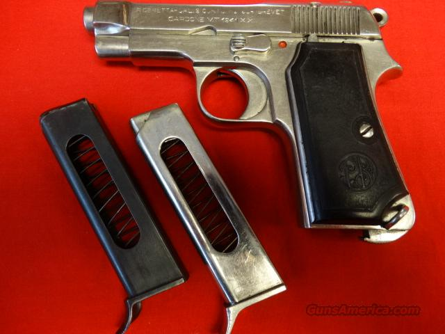 BERETTA 1934 BREVET IN 380ACP  Guns > Pistols > Beretta Pistols > Rare & Collectible