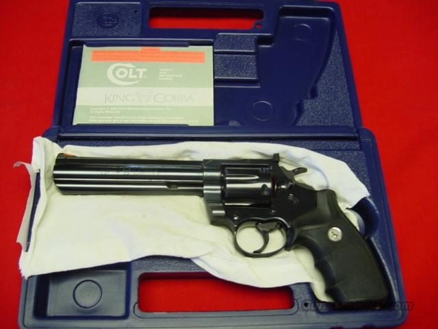 COLT KING COBRA IN 357 MAGNUM  Guns > Pistols > Colt Double Action Revolvers- Modern