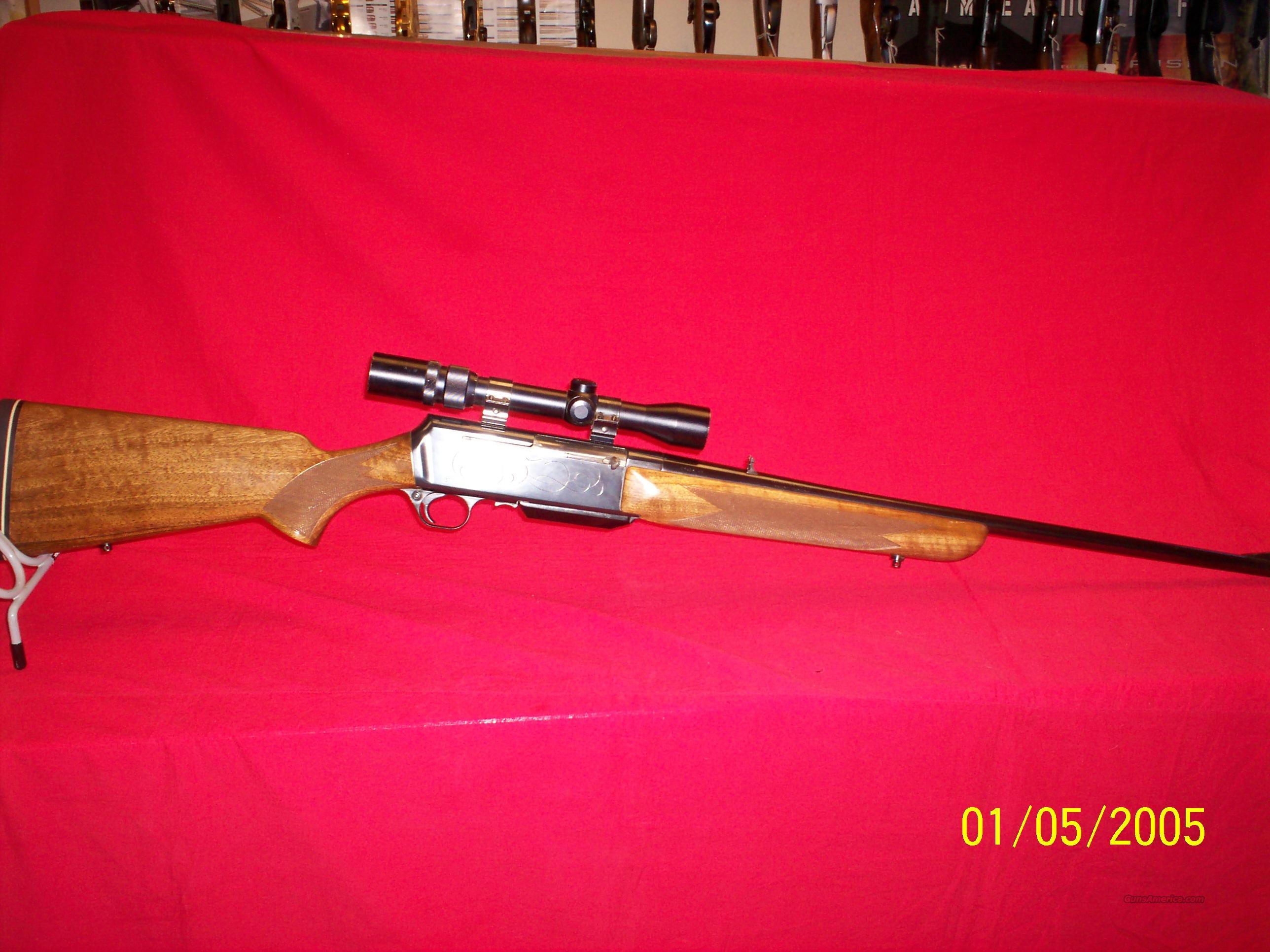 BROWNING BAR IN 7MM MAG GRADE II  Guns > Rifles > Browning Rifles > Semi Auto > Hunting