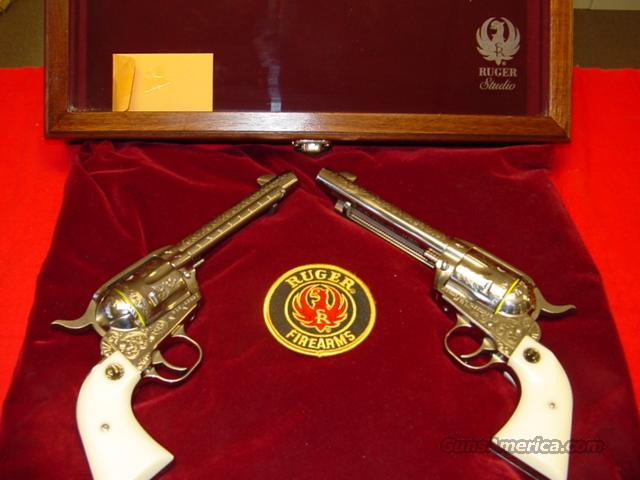 ENGRAVED LIMITED EDITION , RUGER VAQUERO'S  Guns > Pistols > Ruger Single Action Revolvers > Cowboy Action