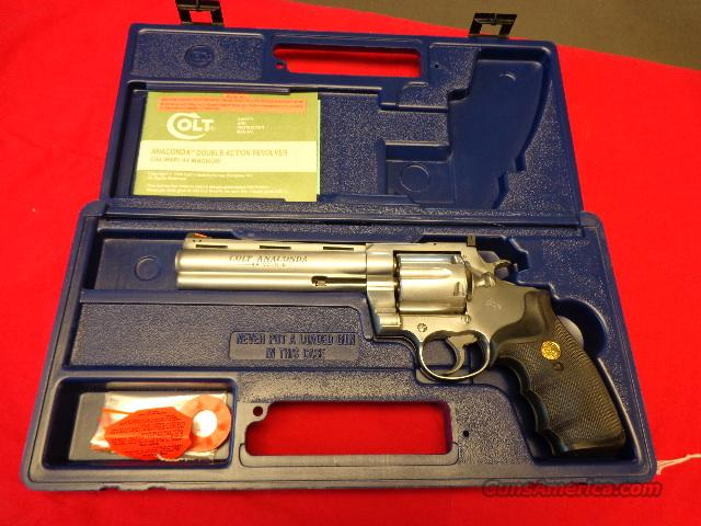 COLT ANACONDA IN 44 MAGNUM  Guns > Pistols > Colt Double Action Revolvers- Modern