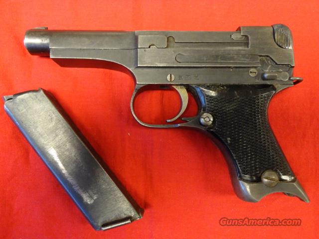 JAPANESE TYPE 94 8MM NAMBU  Guns > Pistols > Military Misc. Pistols Non-US