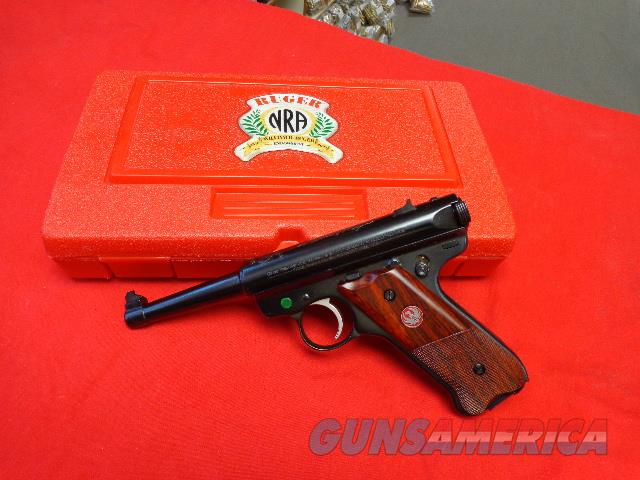 RUGER MK II NRA LIMITED EDITION - NIB  Guns > Pistols > Ruger Semi-Auto Pistols > Mark I/II/III/IV Family