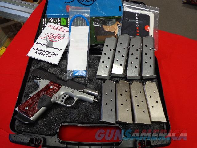 KIMBER ULTRA CRIMSON CARRY IN 45ACP  Guns > Pistols > Kimber of America Pistols > 1911