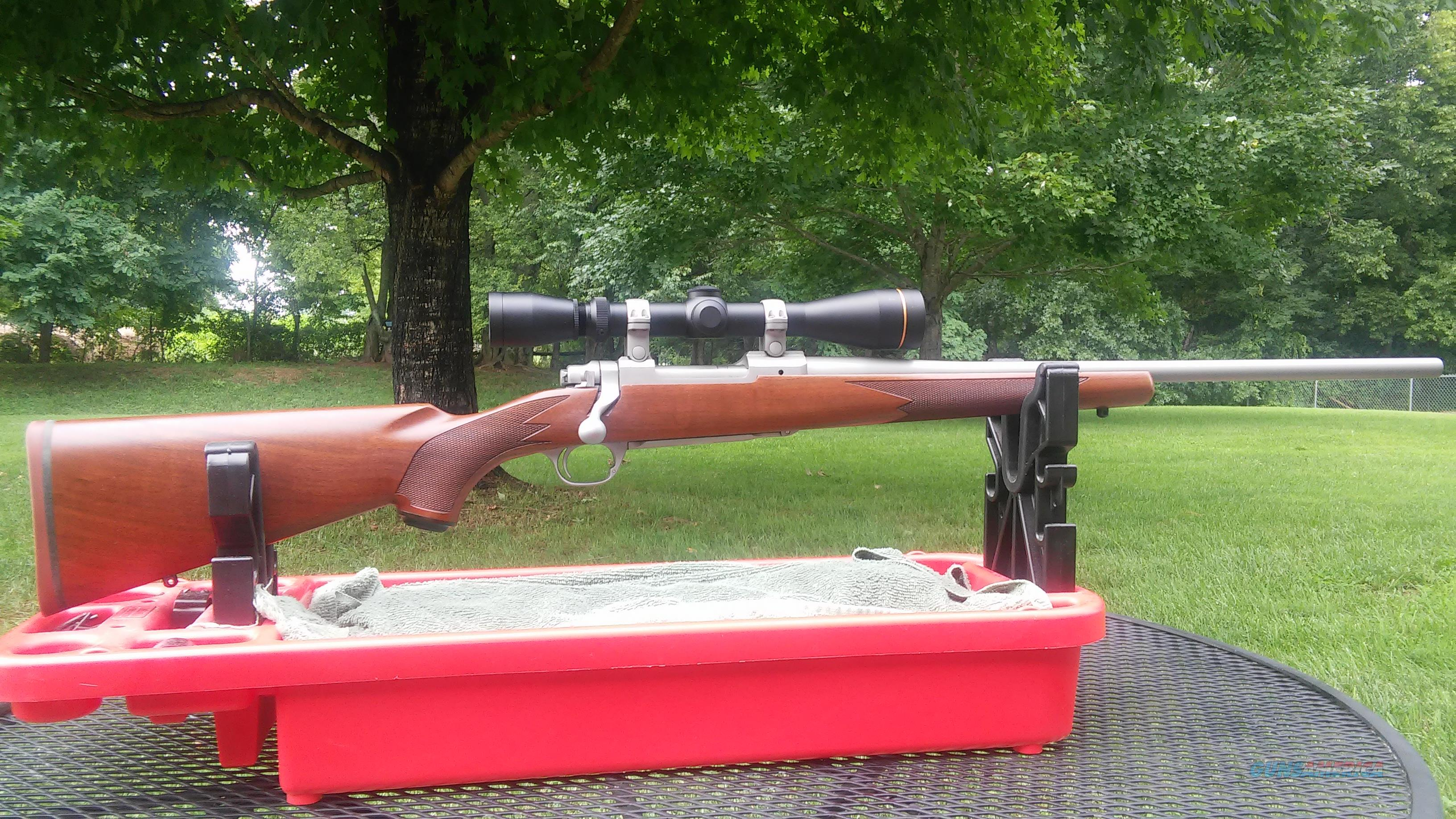 Ruger M77 Hawkeye SS .338 Fed  Guns > Rifles > Ruger Rifles > Model 77