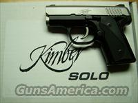 JUST ARRIVED   KIMBER SOLO 9MM!!  STAINLESS  Guns > Pistols > Kimber of America Pistols