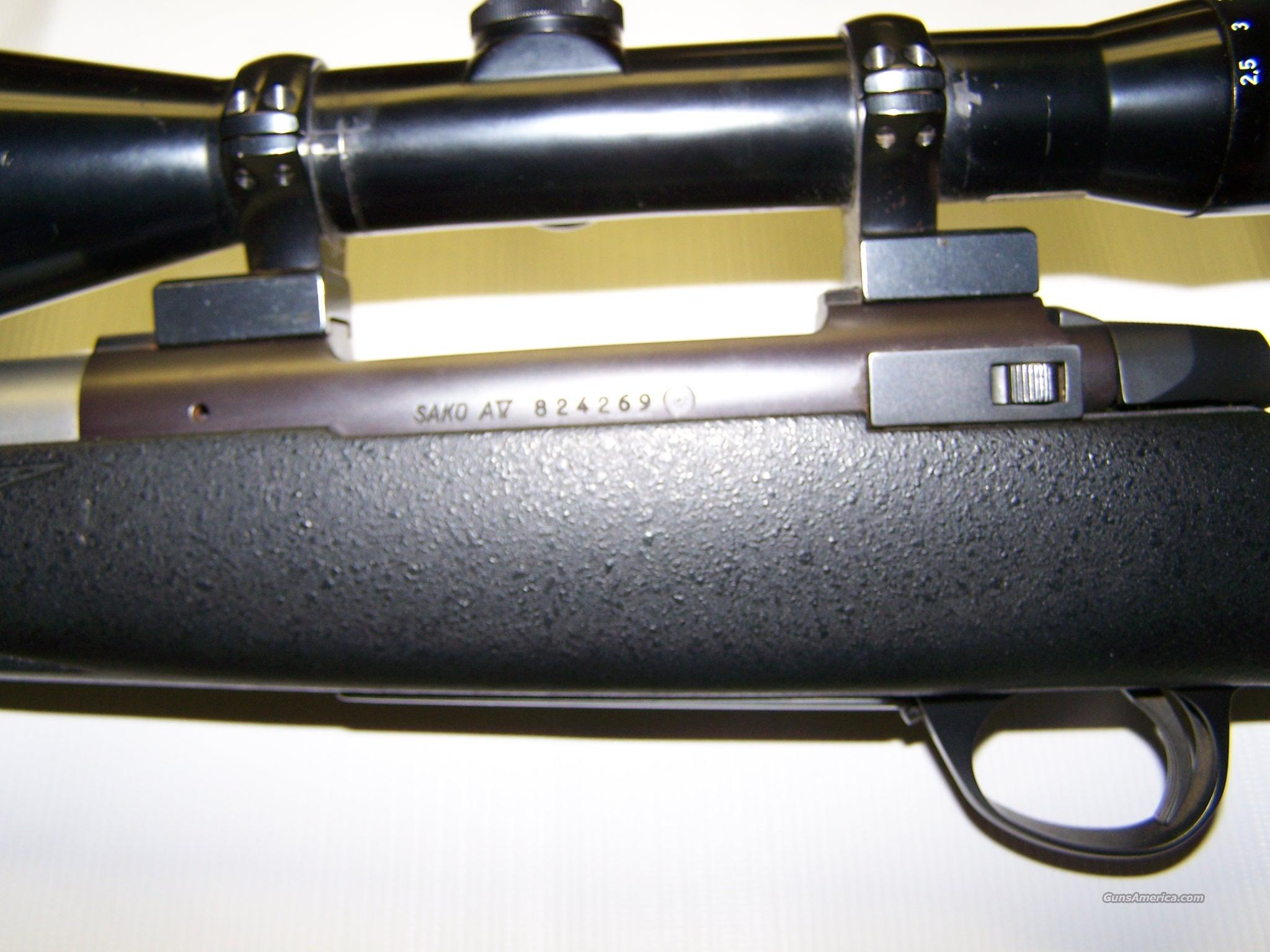 SAKO A5 ACTION 30x8mm REM MAG W/ SHILEN BARREL  Guns > Rifles > Custom Rifles > Bolt Action