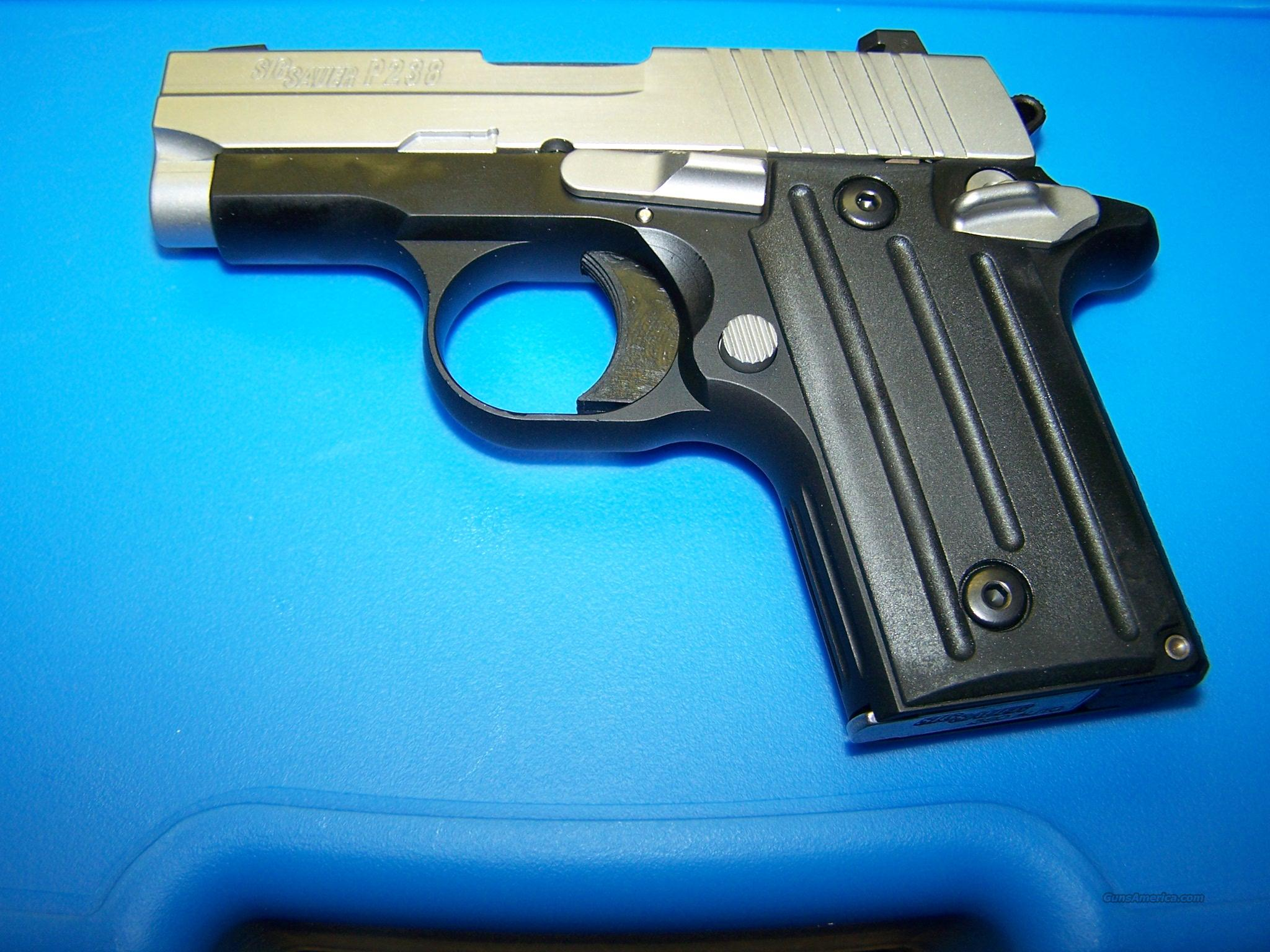 FIRST ONE IN STOCK  SIG P238 380  W/NITESITES!!!!!!!!!!!!  Guns > Pistols > Sig - Sauer/Sigarms Pistols > Other