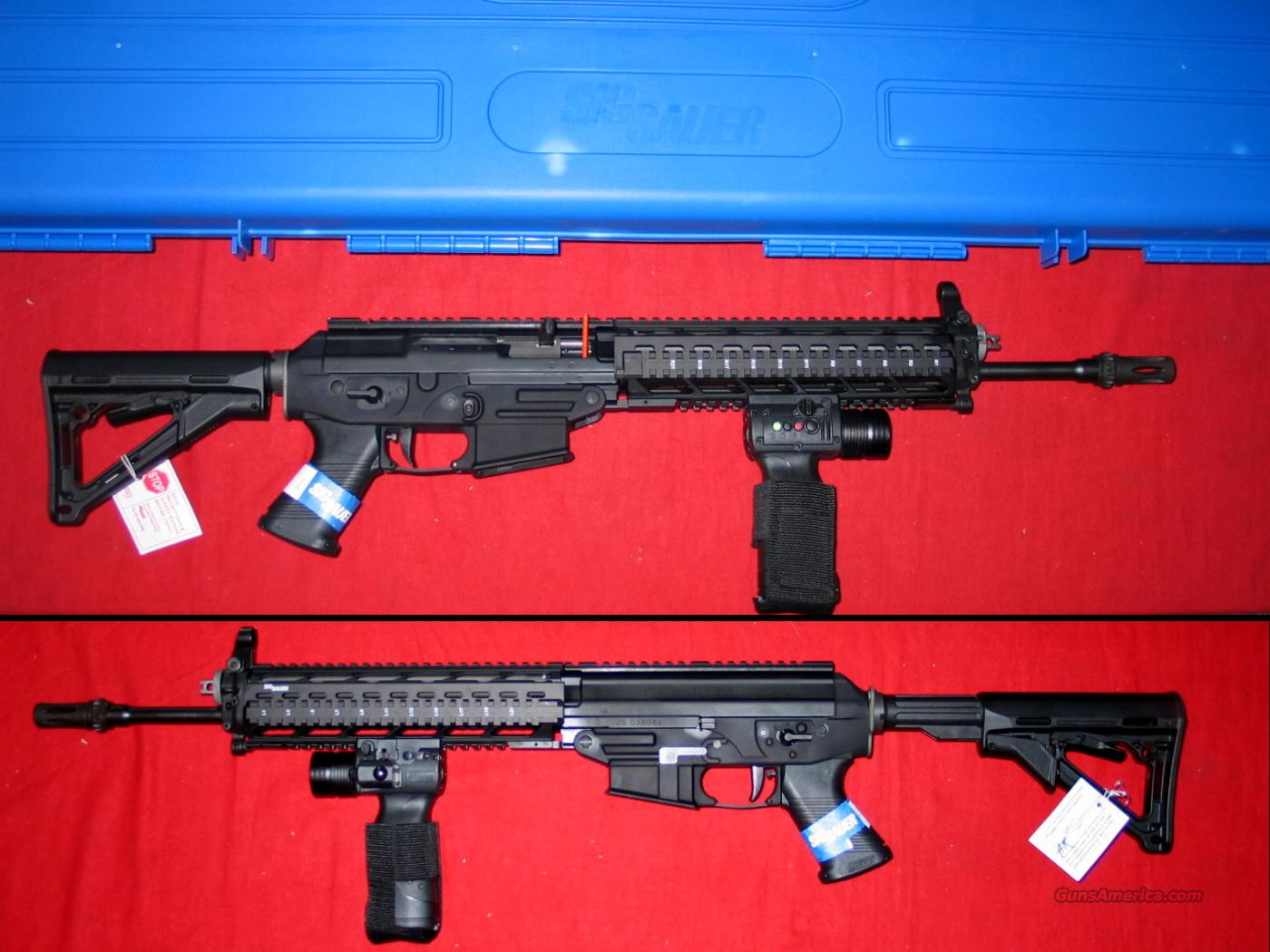 M 556 Swat Rifle - New in Box  Guns > Rifles > Sig - Sauer/Sigarms Rifles