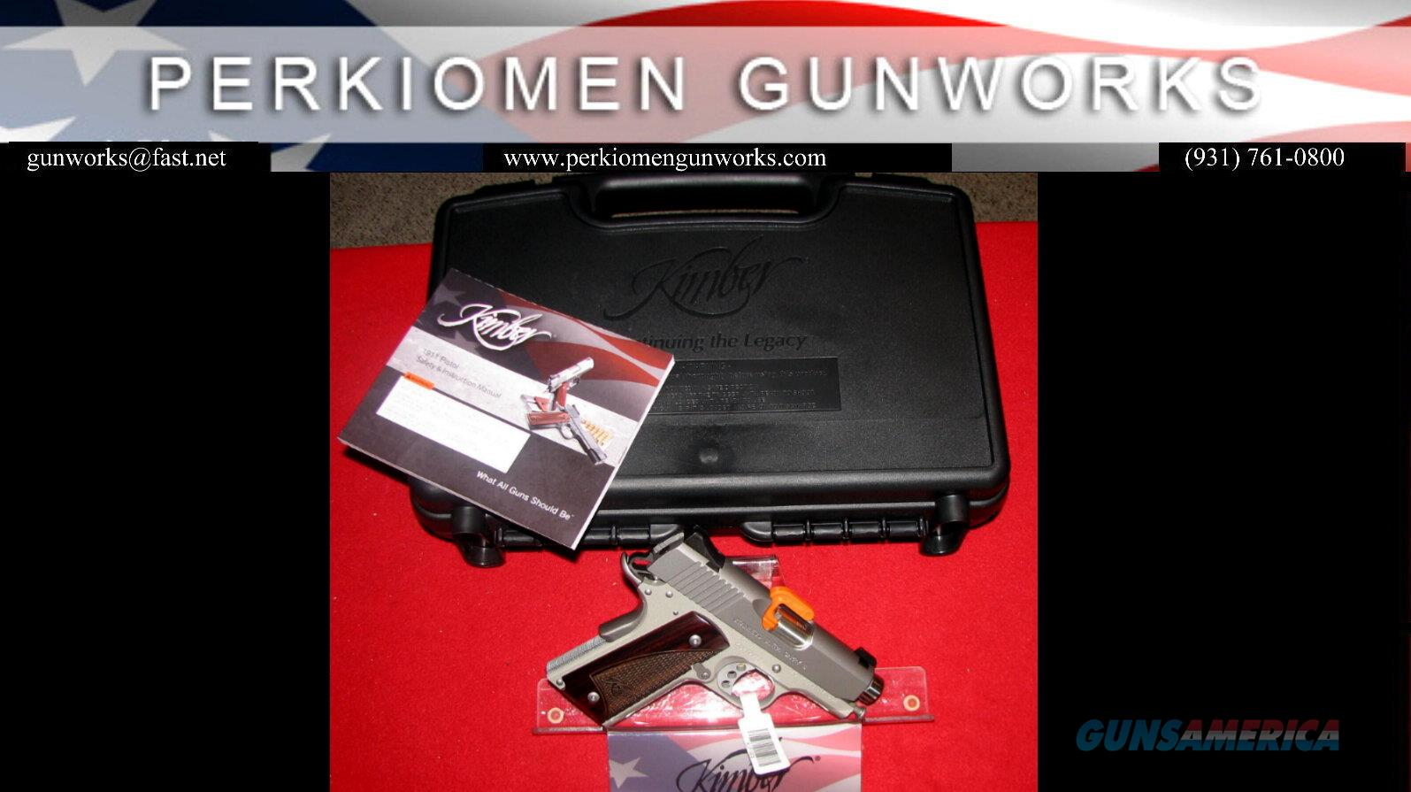 "Stainless Ultra Carry II, 9mm, 3""(New Style for 2016) New in Box  Guns > Pistols > Kimber of America Pistols"