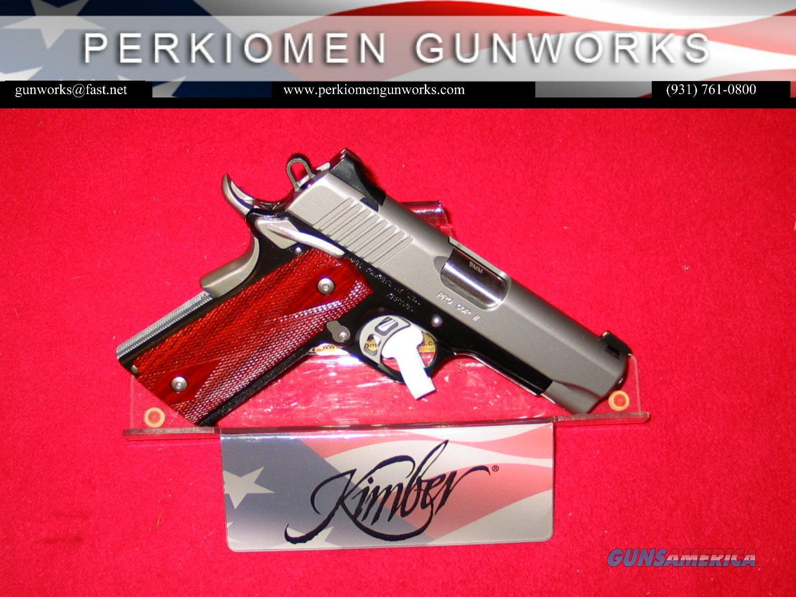"Pro CDP 9MM, 4"" NIB (Retirement - Closeout pricing.)  Guns > Pistols > Kimber of America Pistols > 1911"