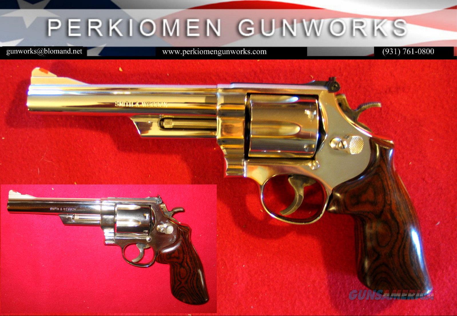 "29-3, .44mag, 6 inch, ""The .44 Magnum"", Nickel, Target   Guns > Pistols > Smith & Wesson Revolvers > Full Frame Revolver"