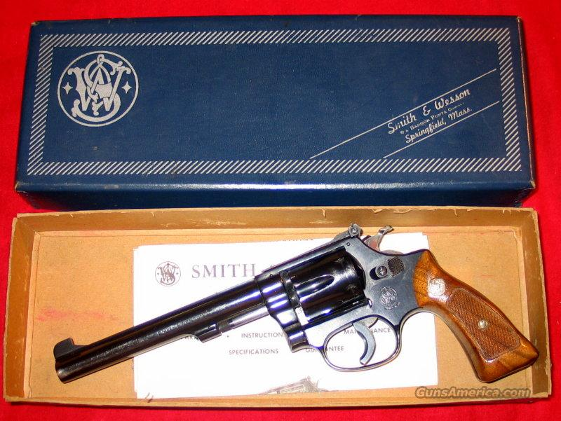"35-1 6"" Target w/box - RARE  Guns > Pistols > Smith & Wesson Revolvers > Full Frame Revolver"