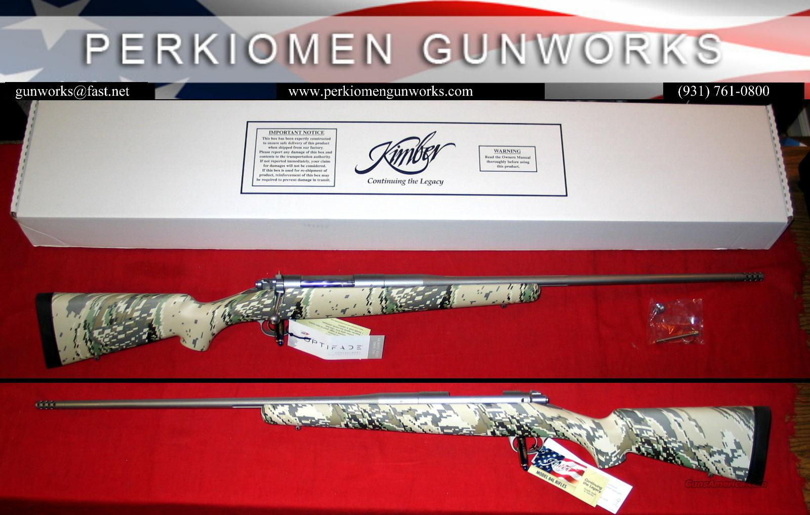 "84L Mountain Ascent .30-06, 24"" w/Talley rings, New in Box  Guns > Rifles > Kimber of America Rifles"