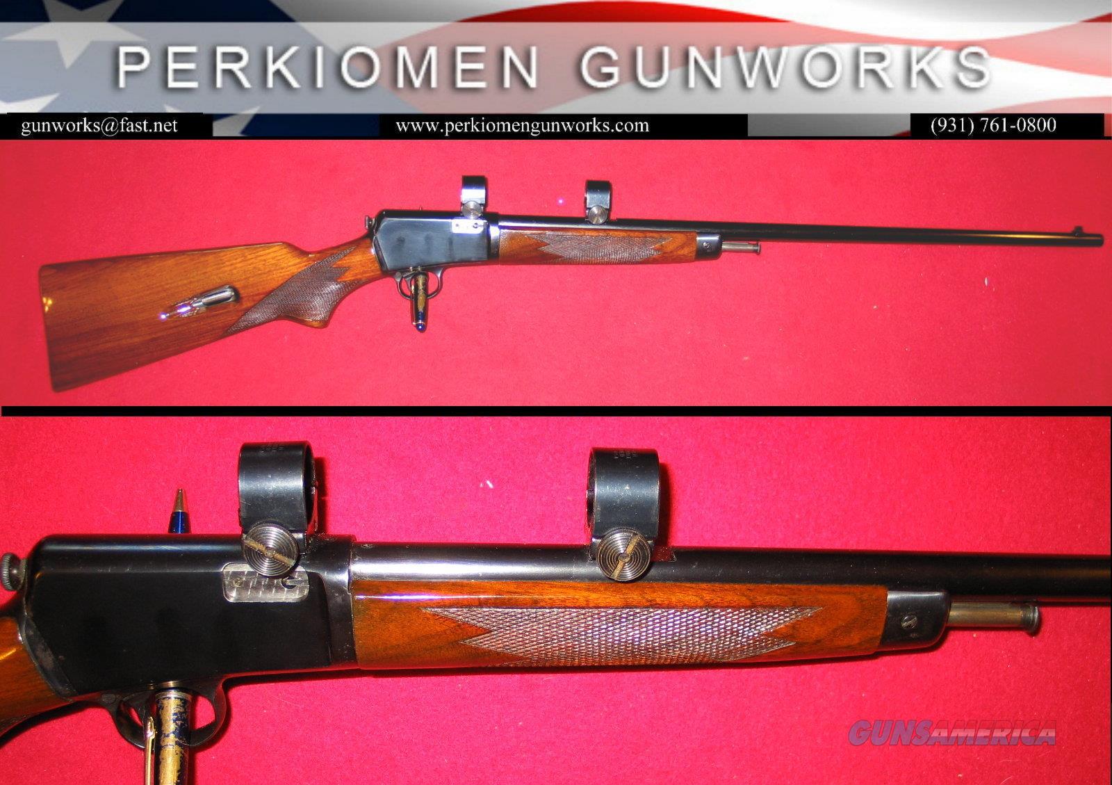63 .22LR Restored 1953 shooter.  Guns > Rifles > Winchester Rifles - Modern Bolt/Auto/Single > Autoloaders