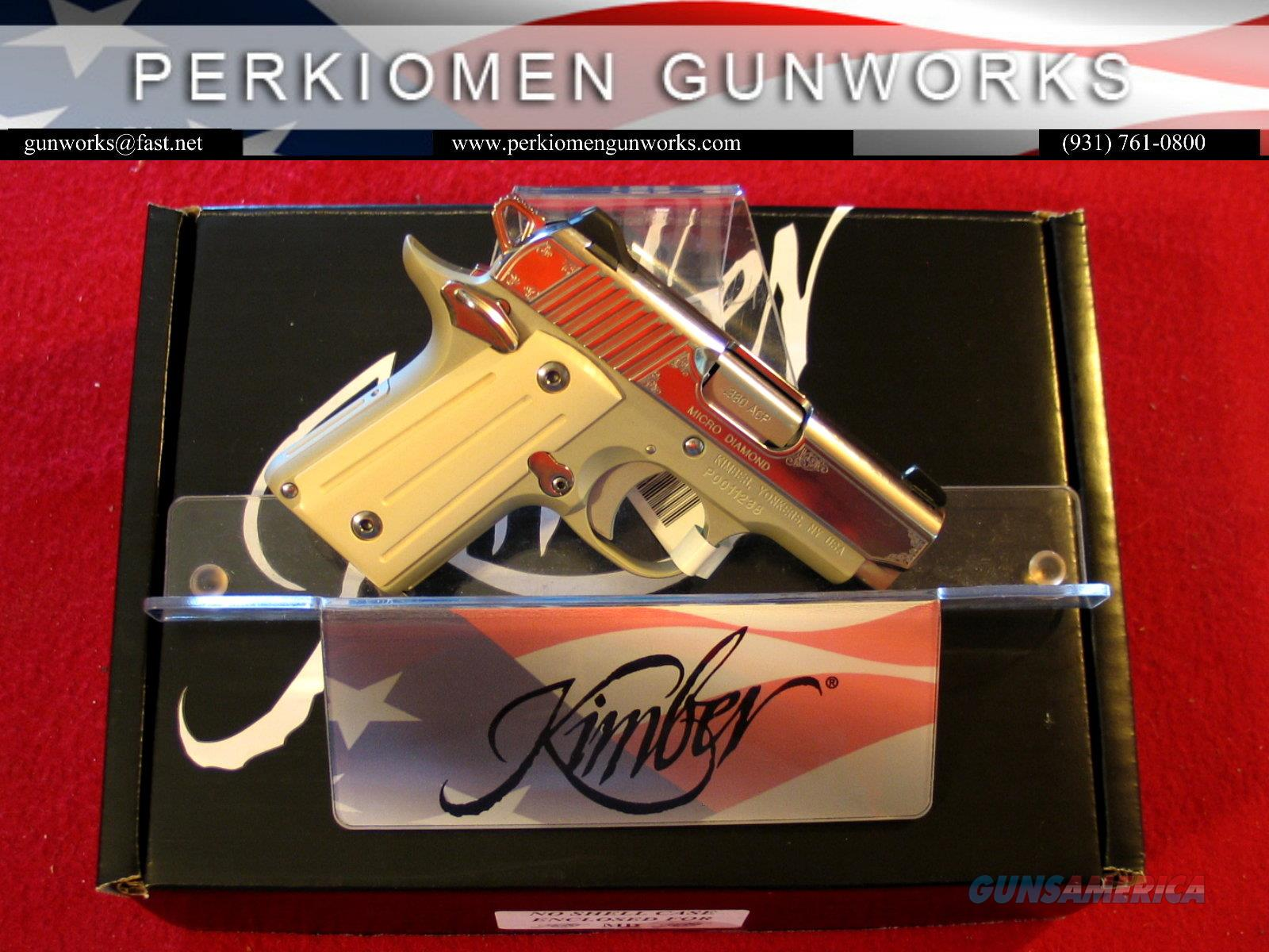 Micro DIAMOND .380acp, New in Box  Guns > Pistols > Kimber of America Pistols > Micro