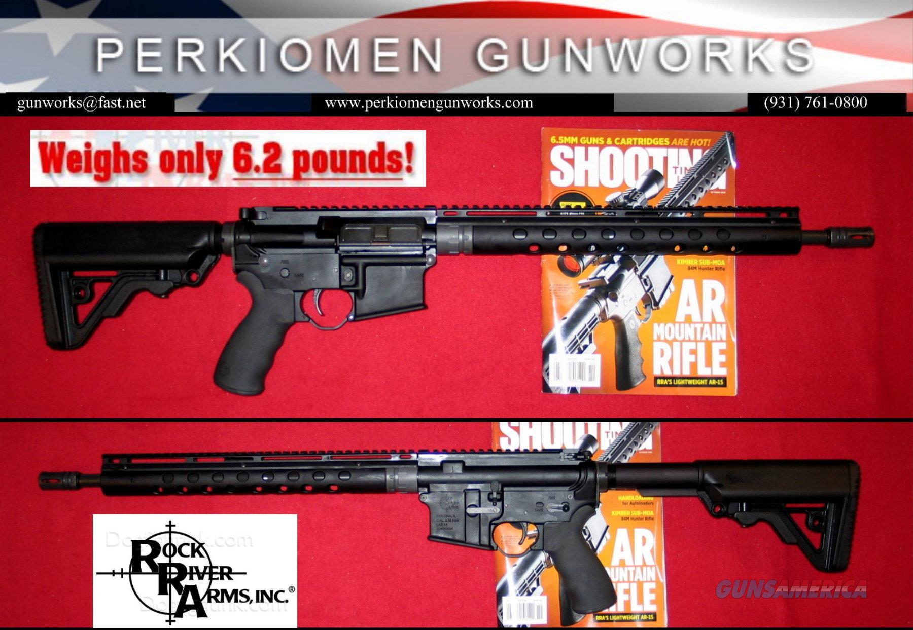 "Lightweight Mountain Rifle, LAR-15, 5.56/223, 16"" w/Grip & Stock upgrades - New  Guns > Rifles > Rock River Arms Rifles"