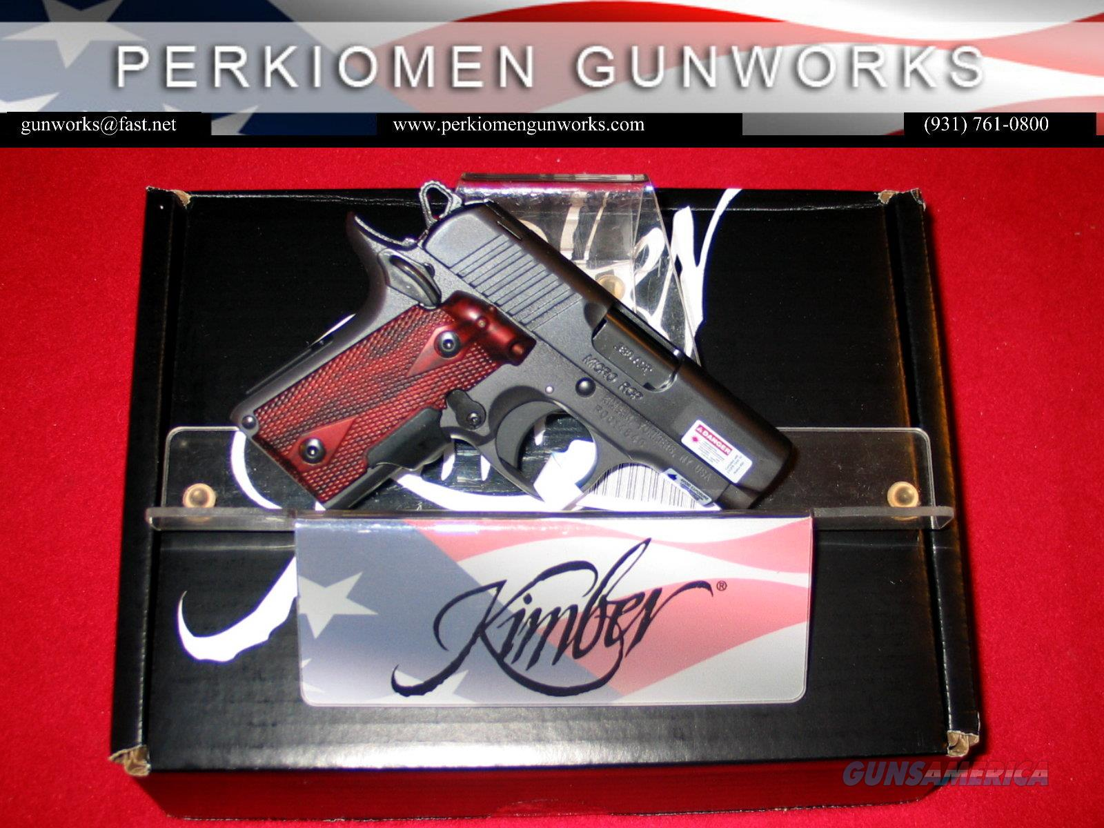 Micro 380 RCP (LG), New in Box and New for 2016  Guns > Pistols > Kimber of America Pistols > Micro