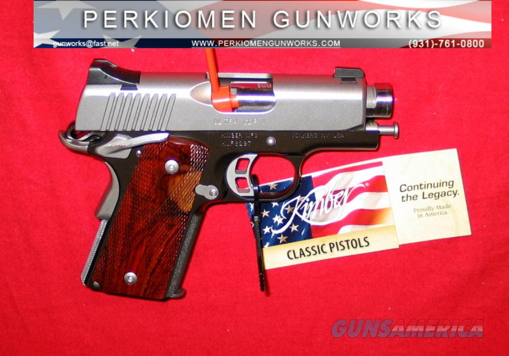 "Ultra CDP II, 9MM, 3"", New in Box, Discontinued.  Guns > Pistols > Kimber of America Pistols"