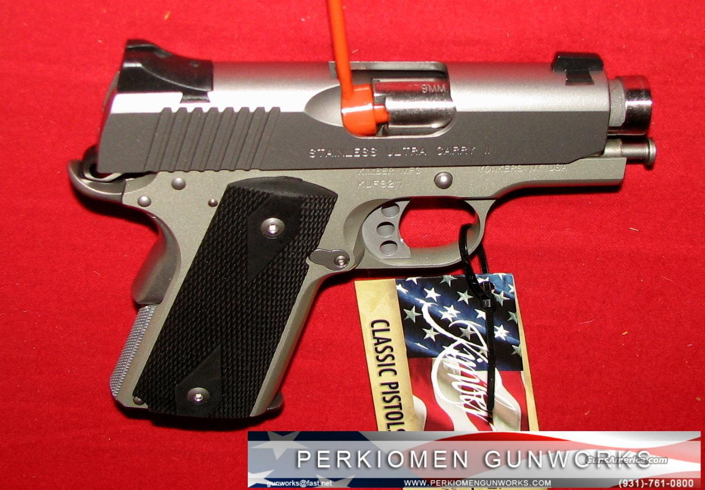 "Stainless Ultra Carry 9MM, 3"", New in Box.  Guns > Pistols > Kimber of America Pistols"