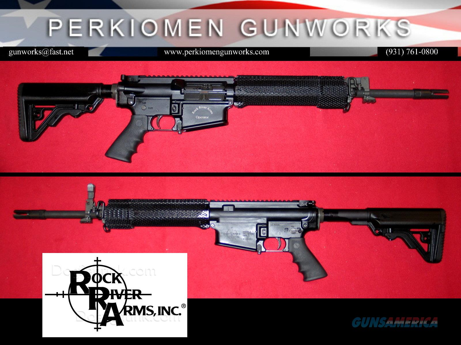 LAR-8 Elite Operator .308 w/Chrome Lined BBL - NIB  Guns > Rifles > Rock River Arms Rifles